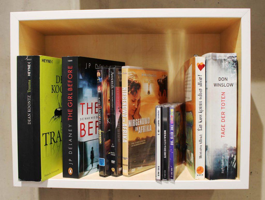 Tauschregal für Bücher